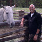 Richard and horse